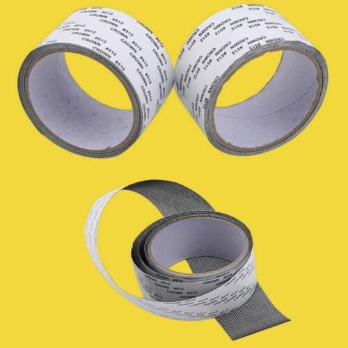 Screen Door Repair Kit Window Mesh Patch Tape Fiberglass Wir
