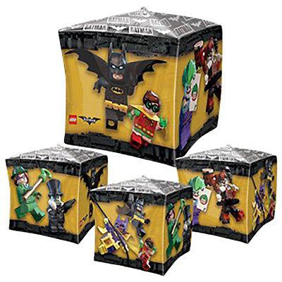 Lego Batman CUBEZ Foil Balloon ~ Birthday Party Decorations Favor Supplies 15X15 - Batman Party Decor