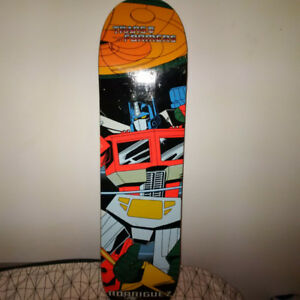 Limited Edition  Primitive Rodriguez Optimus Prime Skateboard
