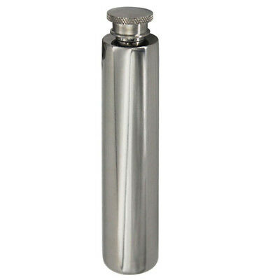 2 Oz Stainless Steel Hip Flask Whisky Alcohol Drinkware Wine Tube Flagon