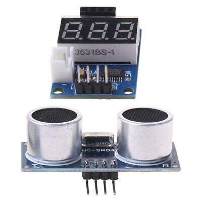 Hc-sr04 Ultrasonic Distance Measuring Sensor Module Led Display Range Finder