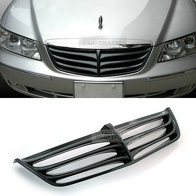 Real Carbon Front Radiator Hood Tuning Grille For HYUNDAI 2006-2011 Azera TG