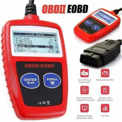 Fault Code Reader Scanner Engine Car Diagnostic Reset Tool OBD 2 CAN EOBD