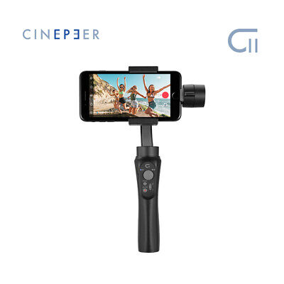 CINEPEER C11 Gimbal 3-Axis Handheld Stabilizer for Smartphone Mobile phone Vlog