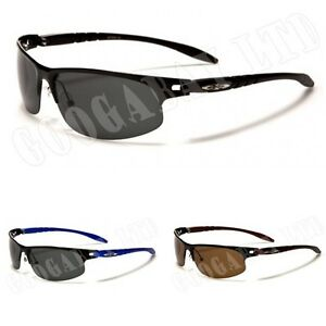 New-Black-Polarized-Mens-Ladies-Retro-Unisex-Designer-X-Loop-Sunglasses-UV400-72