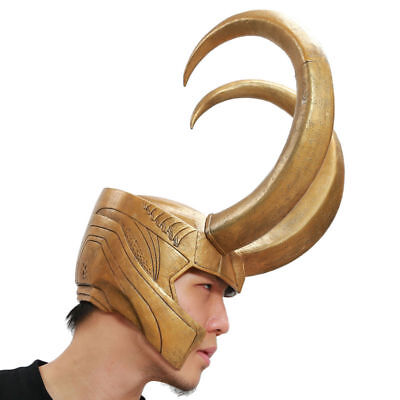 Best Face Mask Loki Helmet Prop Halloween Party Movie Cool Mask For Man Adult