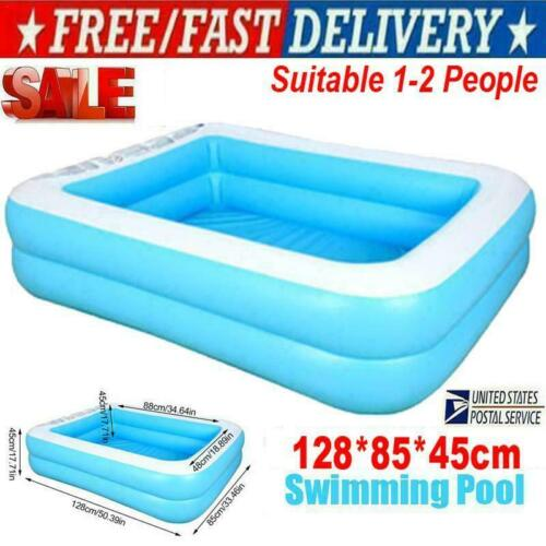 Kids Inflatable Swimming Pool Family Outdoor Above Ground Child Paddling Pool