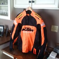 KTM Motorcycle ridiing coat (new with tags)