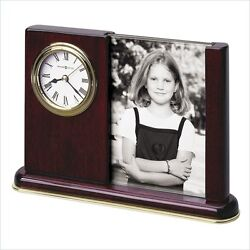 Howard Miller Portrait Caddy Table Top Clock Transitional Mantel /