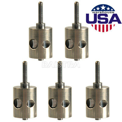 5x Dental Turbine Cartridge Push Button For Nsk Pana Air Standard Head Handpiece