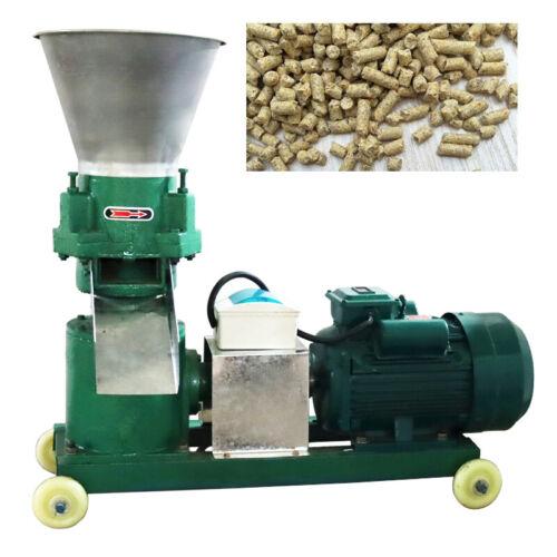 Chicken Feed Pellet Mill Machine 3mm 220V Upgrade Animal Feed Machine 150kg/h