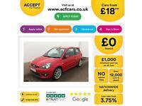 Ford Fiesta 2.0 ST FINANCE OFFER FROM £18 PER WEEK!