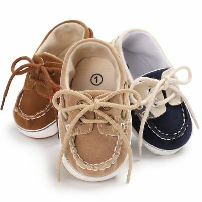 Infant Toddler Sneakers Baby Boy Girl Soft Sole Crib Shoes N