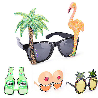 Funny Hawaiian Tropical Sunglasses Glasses Summer Fancy Dress Party Costume GF](Funny Eyeglasses)