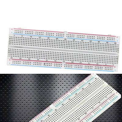 2pcs Breadboard 830 Tie-point Solderless Pcb Bread Board Mb-102 Mb102 Test Cvb