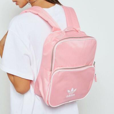 Adidas Originals Womans Small Backpack Gym Bag Pink Sports BNWT
