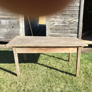 Vintag hand made table