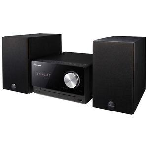*PIONEER* X-CM32BT-K Bluetooth HiFi SYSTEM w/ CD, MP3, USB & AUX