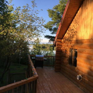 Log House rental on Crow Lake / Nestor Falls / Sioux Narrows