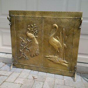 Brass fireplace grates London Ontario image 4