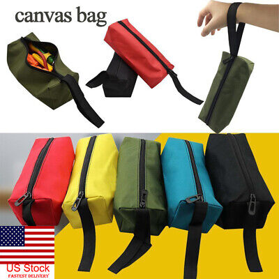 Plumbers Hand Tools (Zipper Tool Bag Pouch Organize Storage Small Parts Hand Tool Plumber Electrician )