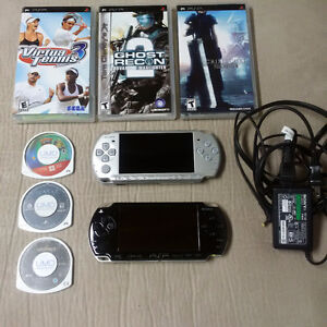 Two Sony PSP -  Playstation Portables and Accessories - $120.00