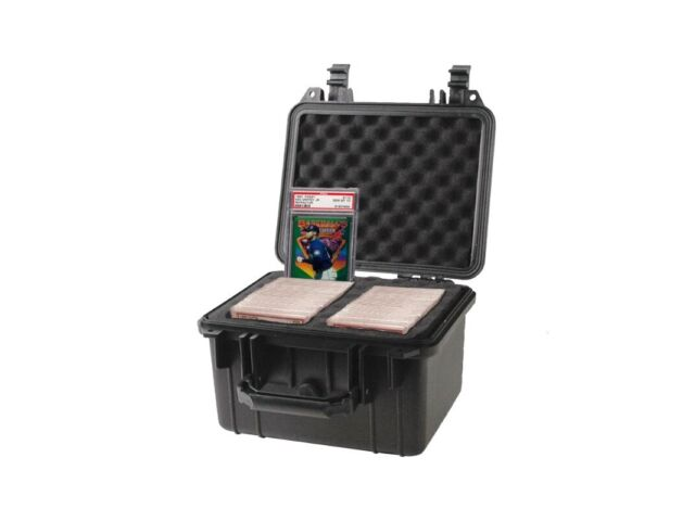 Graded Card Storage Box PSA BGS SGC One-Touch Deep Travel Size Waterproof Case