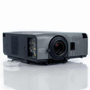 NEC Video Multisync LCD Projector with Slim Remote and Cables
