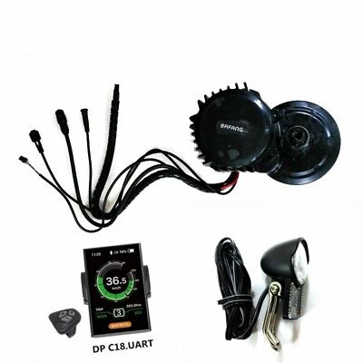 New Version Bafang 8Fun BBSHD Mid Drive Kit Motor,48V 1000W With Light Connector