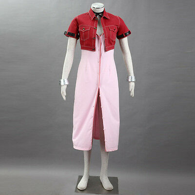 PREORDER Final Fantasy 7 Aeris Aerith Dress FF7 Complete Costume Cosplay - Final Fantasy 7 Aerith Kostüm