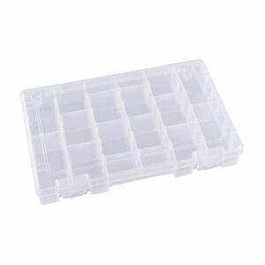 Flambeau Clear Storage Containers - 18 Compartments - New Stock