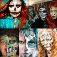 Professional special effects artist, face & body painter, latex.