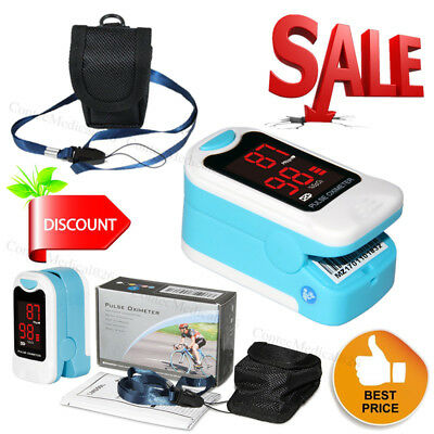 Finger Pulse Oximeter Spo2 Pulse Rate Monitor Oxymeter Blood Oxigen Meter Cms50m