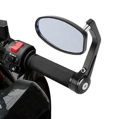 1 Paar Rückspiegel Universal Spiegel Lenkerspiegel für Motorrad ATV Roller AL 03