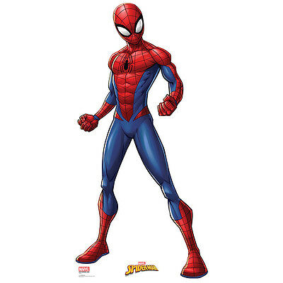 SPIDER-MAN Marvel CARDBOARD CUTOUT Standup Standee Poster Spidey FREE SHIPPING - Spiderman Cutout
