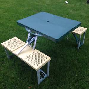 Camping Picnic Table for kids - foldable