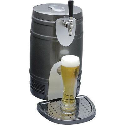 Compact 5 Liter Mini Kegerator Cooler Pressurized Or Gravity Beer Draft Fridge