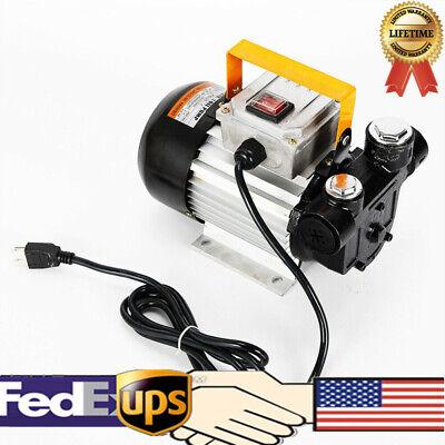 60lmin Oil Diesel Kerosene 550w 110v Fuel Transfer Pump 16 Gpm Us