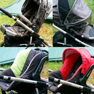 Steelcraft Strider DLX Stroller Single Or As A Travel System Wentworthville Parramatta Area Preview