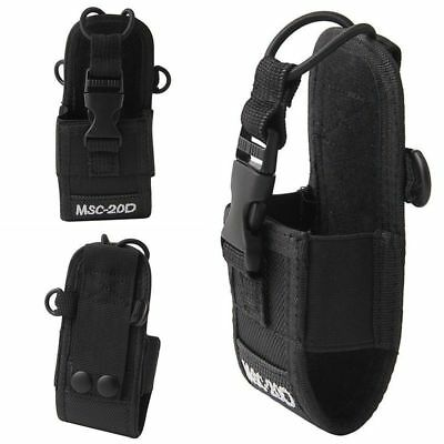 For Baofeng Motorola Kenwood Radio Portable Nylon Pouch Holster Bag Case Msc 20D