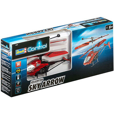 "Revell Remote Control Helicopter ""Sky Arrow"" In RED NEW"