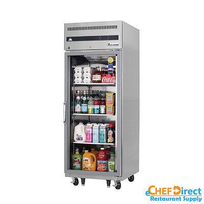 Everest Esgr1 29 Single Glass Door Reach-in Refrigerator