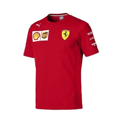 Sebastian Vettel Ferrari 2019 F1 Short Sleeve T-shirt - New, updated version