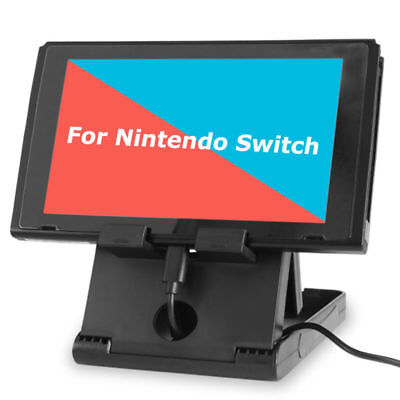 Nintendo Switch Holder Bracket Stand Dock Cradle Game Console Accessories