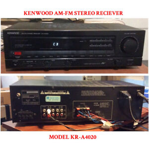 KENWOOD AM-FM STEREO RECEIVER FOR SALE!