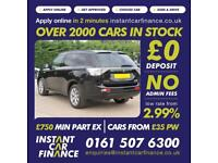 Mitsubishi Outlander 2.0 ( 200bhp ) 4X4 PHEV ( 5st ) Auto 2015MY GX3h FROM £93PW