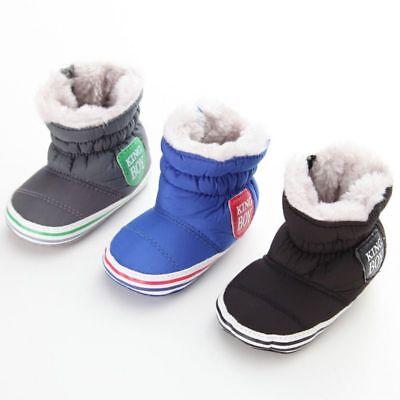 DE Babyschuhe Thermo Booties Stiefel Winterschuhe Schneestiefel NEU Textilsohle