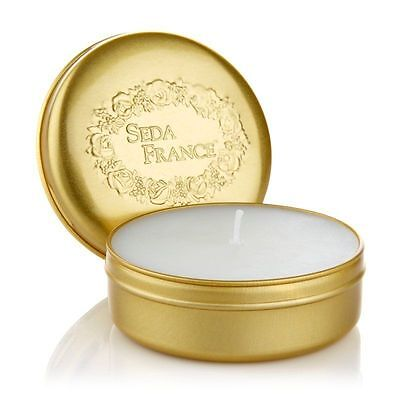 Seda France Classic Toile Set of 2 Scented Candles Travel Tin Candle 2 oz  2 Ounce Travel Tin