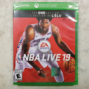 NBA Live 19 Xbox One Game - NEW