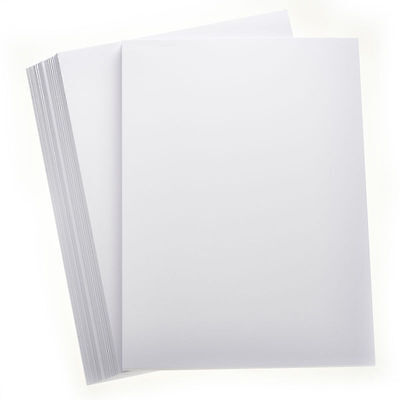 50 SHEETS SNOW WHITE A4 SMOOTH CARD 160GSM CRAFT HOBBY PRINTER CARDMAKING Wht 50 Sheet